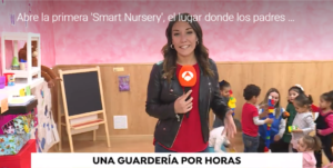 Antena 3 Noticias-guarderias-por-horas-madrid-Escuela Infantil smart nursery