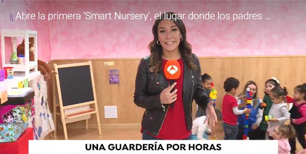 Antena 3 Noticias-guarderias-por-horas-madrid-Escuela Infantil smart nursery
