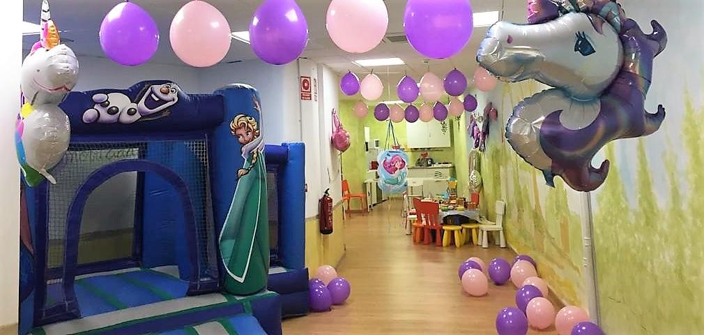 fiesta infantiles madrid cumpleaños niña